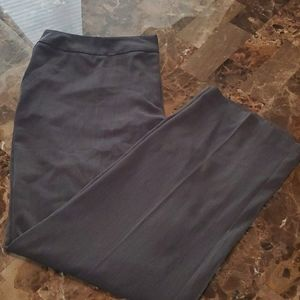 Ashley Stewart Grey Dress Pants Trouser Slacks